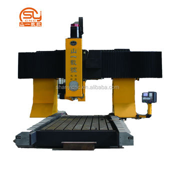 QVM1530 ISO China Bridge Type 3 Axis CNC Milling Drilling Machine For Heat Exchanger