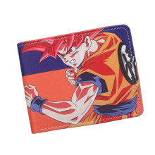 Fashion Dragon Ball Cartoon Wallet Japanese Anime Son Goku Genki Dama Shenron Cute Purse Short Wallet For Men Women Wholesale