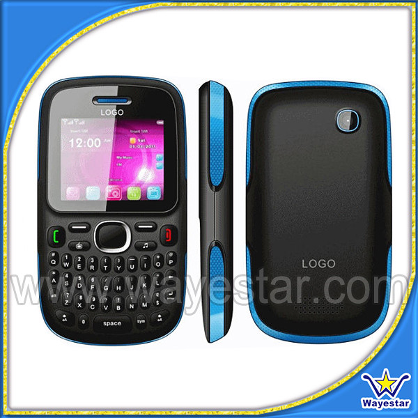 Dual SIM Card Mini Mobil Telefon with TV, Qwerty Keypad