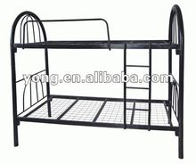 The most popular metal tube bunk double deck beds