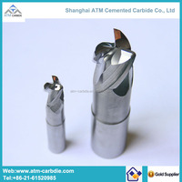 High performance carbide endmill milling cutter for aluminum