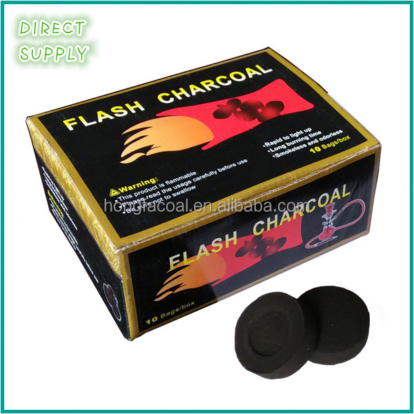 round tablet bamboo charcoal
