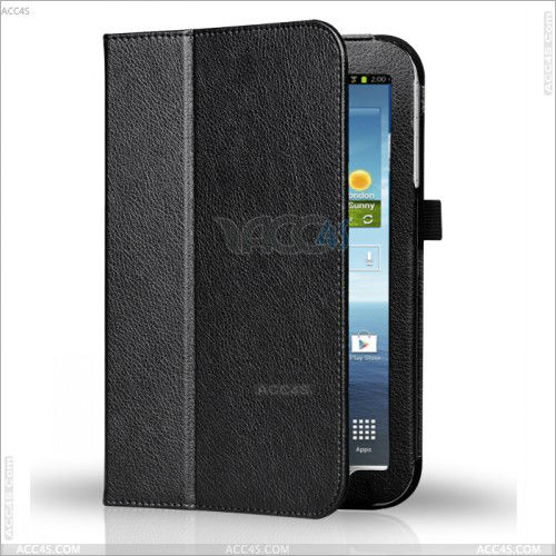 Slim Folio Stand 7 inch Tablet PC Leather Case Cover for Samsung Tab 3 P3200 P-SAMP3200CASE005