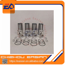 4EE1 liner kit with piston & piston ring & cylinder liner & snap ring for 4EE1 engine repairing