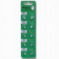 Blister Card Packing Silver Oxide Battery Alkaline Button Cell