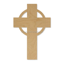 Gift tag crucifix christian church crafts custom decoration wooden cross