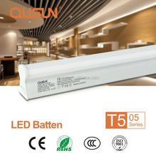 QUSUN LED Light Tube 5w, T5 LED Batten Fixture 6500k 220 volts