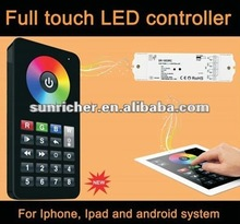 full touch wireless WIFI remote RGBW LED strips controller