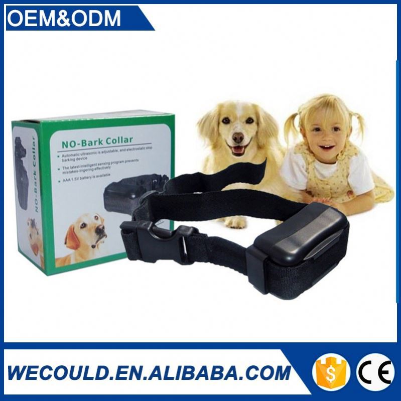 Latest electronic devices Effective Ultrasonic Bark Control Collars Dog Collar WT742