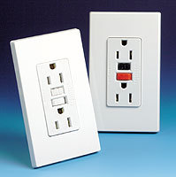 20a gfci receptacles/flush mount receptacle/gfci wall outlet socket