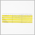 Kearing patchwork ruler in Acrylic 5*15cm for clothes industry