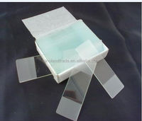 microscope slide and cover glass