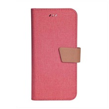 Alibaba factory price mobile phone cover leather stand wallet flip case for lenovo k6 power