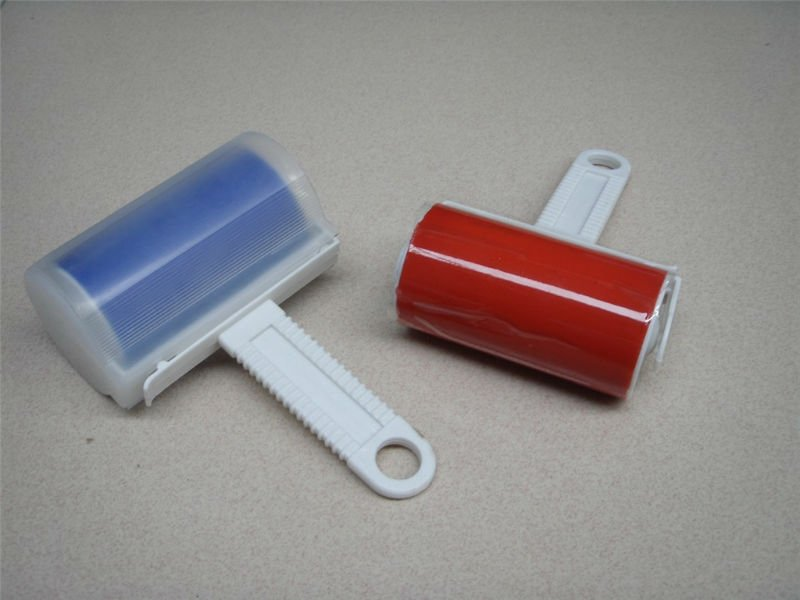 Customized travelling folded sticky roller lint rollers