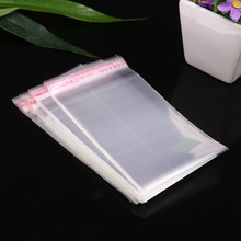 wholesale high quality opp plastic packing bags cheap price custom card sleeves