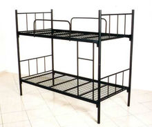 Custom adult steel bunk beds