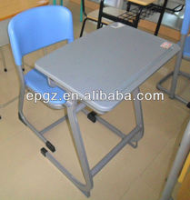 different types of table setting/School table chair plastic