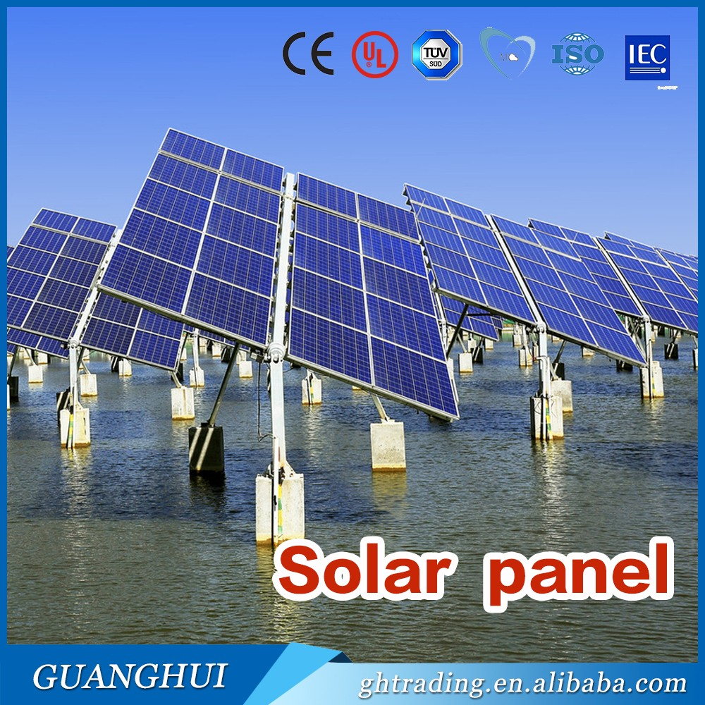 Best Price Maldives Photovoltaic 300W Solar Panels used for Installation 5KW Solar System