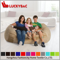 Washable, Comfortable, Moveable, Changeable Micro Suede Cover Foam Filled Bean Bag