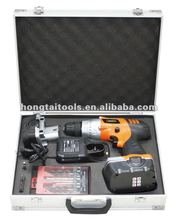 18V-24Volt 2 Battery 1hour charger Alu-Case packing cordless drill