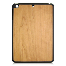 Wood PC bottom,wood Chip bottom protective case for iPad air