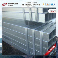 galvanized metal tube zinc coted rectangular tube hollow section pipe