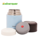Blue food thermal insulated stainless steel food warmer packaging lunch box