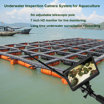 New products fish farm inspect camera wide angle surveillance camera