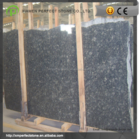 China peacock green granite slabs