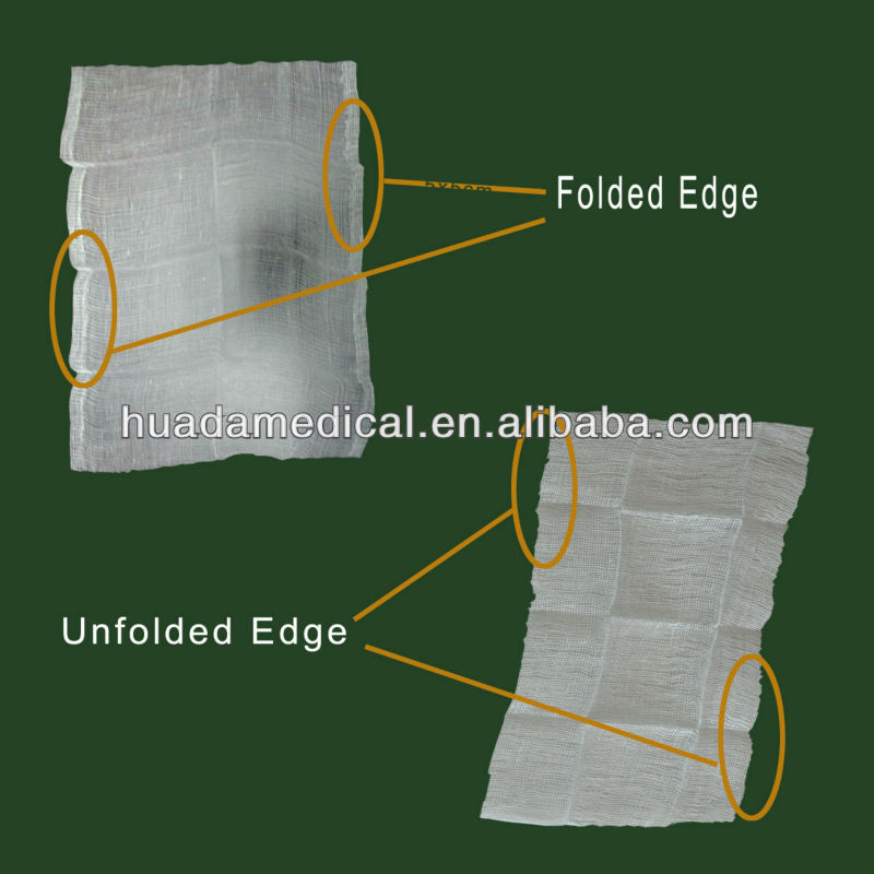 cotton, absorbent medical gauze