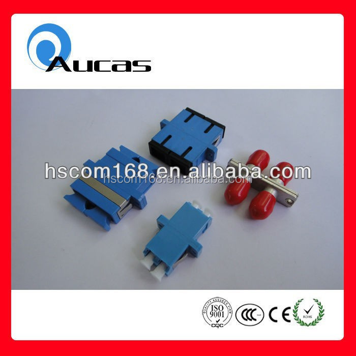 China supplier SC FC ST fiber optical adaptor 62.5/125 m 50/125 m 9/125 m