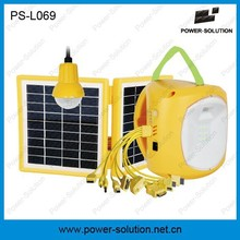 Phone charging hanging bulb 2w led solar lantern for Africa market