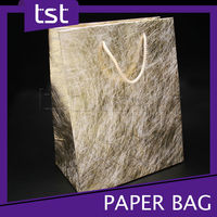 KD031 Custom Made Luxury Texture Paint Print Art Paper Cloth Bag