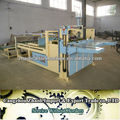 Semi automatic box gluing machine corrugated box machine
