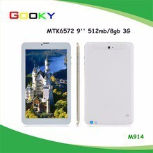 9 inch Dual core Tablet pc Android 4.2 android in me with phone calling