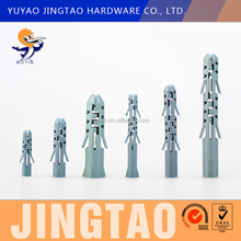 Plastic Plug For Screw Plastic Anchor Wall Plug Ningbo Manufacture
