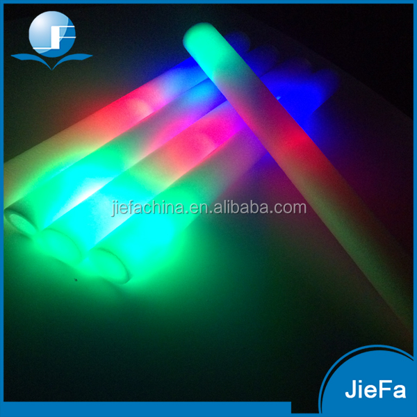 Fashion Style Low Price LED foam Stick Concert Cheering LED Glow Sticks Foam