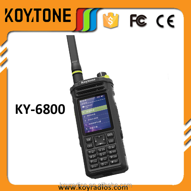 Cheap Portable Two Way WCDMA GSM 3G 4G Handy Cell Phone Ham Radio HF Transceiver KY-6800