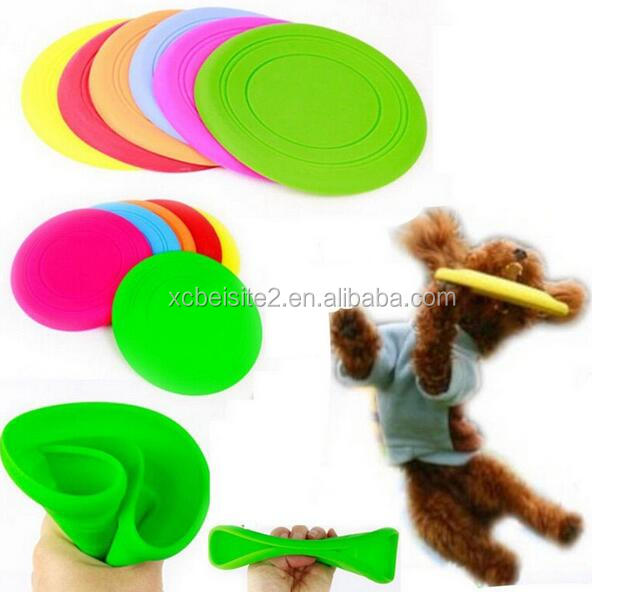 CY186 Fantastic Pet Dog Flying Disc Tooth Resistant Training Toy Play Frisbee Tide
