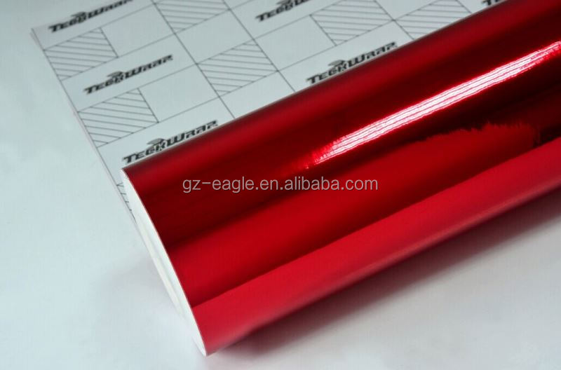 Teckwrap Red Chrome 1.52*20M Chrome Car Wrap Vinyl Film Galaxy Vinyl Car Wrap