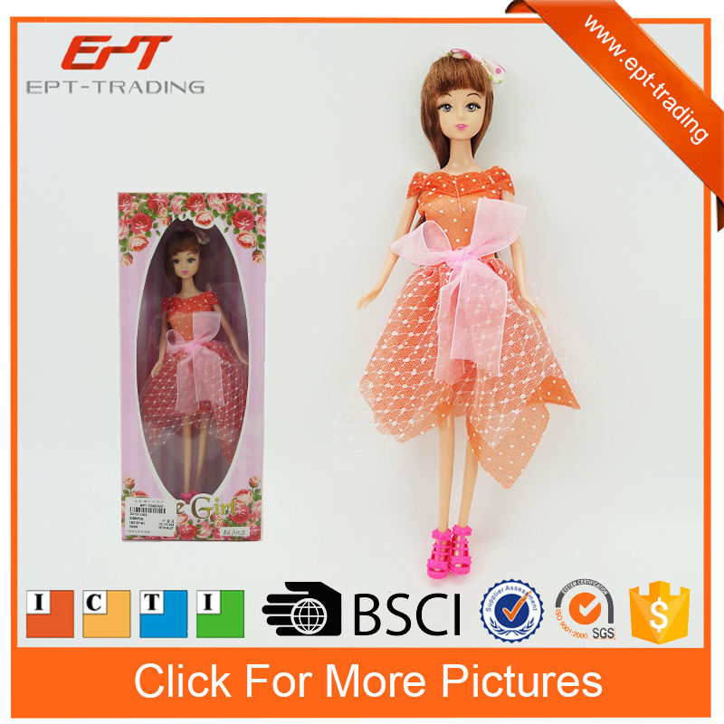 Most beautiful doll toys 11.5 fashion royalty dolls for kids