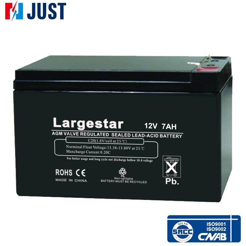 China hot selling high quality 12v sealed lead acid dry cell battery