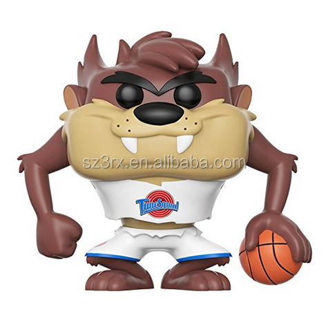 Wholesale Custom Vinyl Figure Funko Pop /Plastic Monster with Basketball Figurine Funko Pop Toys For sale