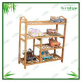 4 Tier bamboo door footstools
