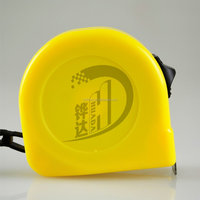 yellow measure tape,tape measure with one brake ,steel measure tape