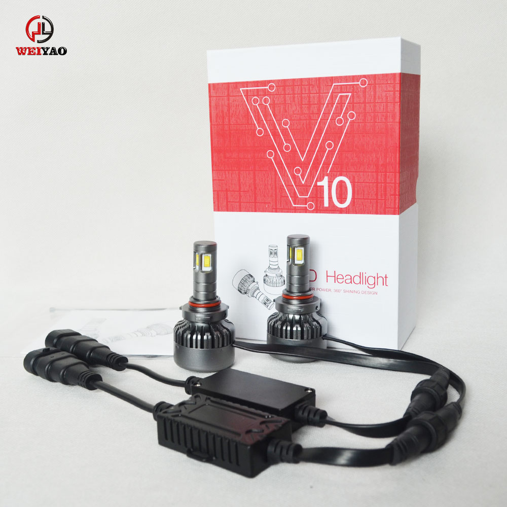 Car light manufacturers wholesale 9005 HB3 led automotive lighting super bright led headlight bulbs