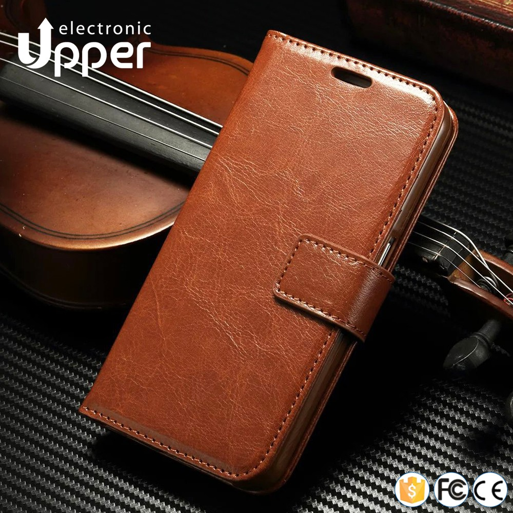 For meizu m2 note flip case, genuine leather wallet phone case cover for meizu note 2