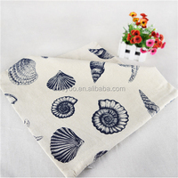 ZOOYOO bloster manufacturers china blue flower pillow case sublimation pillow case family decoration (ETH0147)