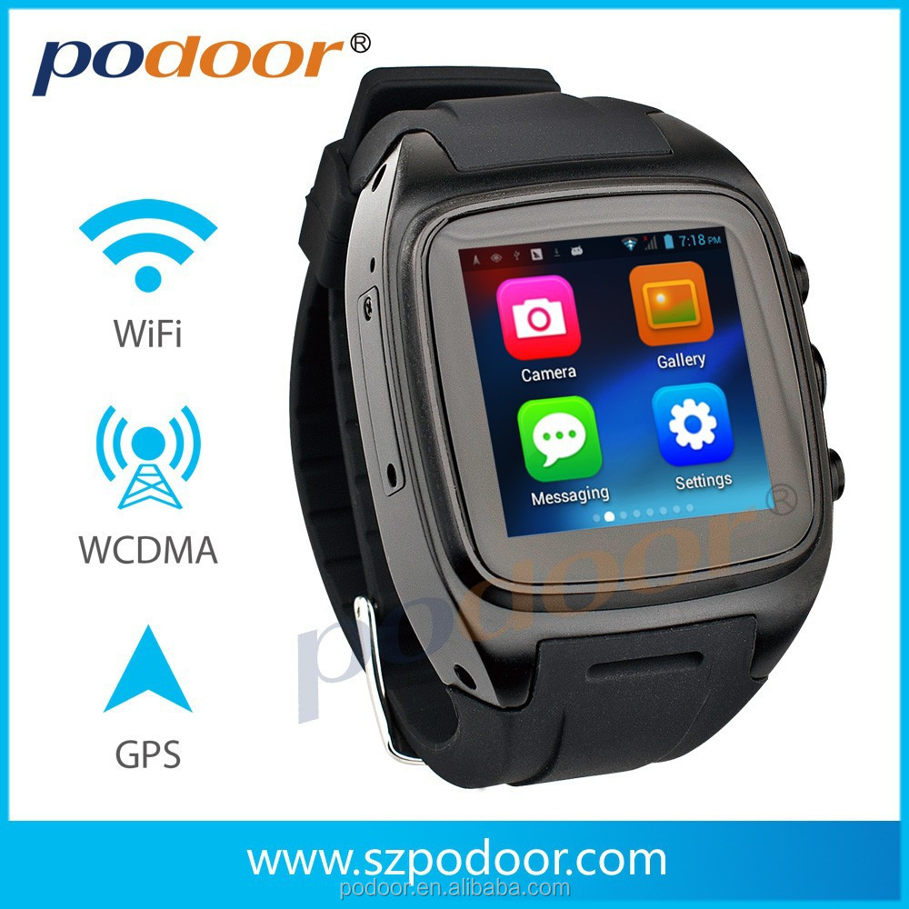 "1.54"" Aluminum stainless steel cover 300W camera bluetooth/GPS/WIFI 3g GSM GSM/WCDMA 3G watch phone smart watch and phone"