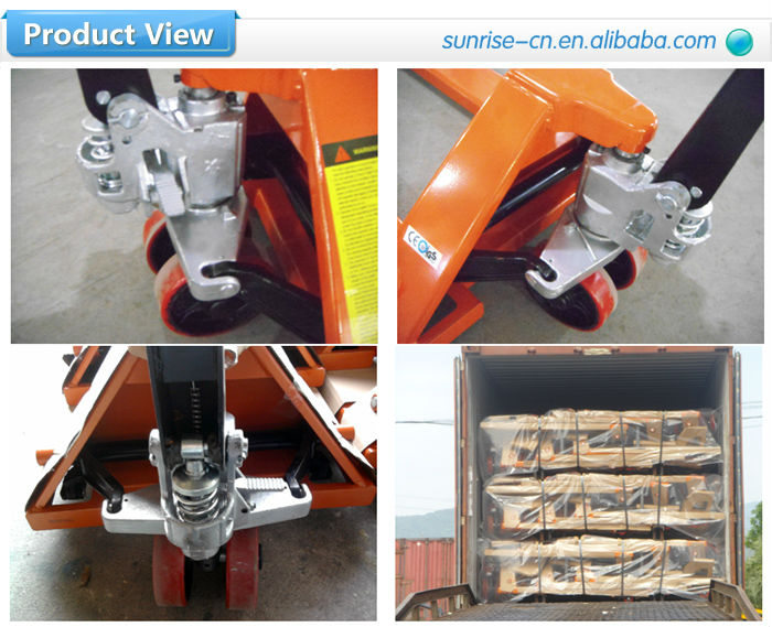 High performance 3ton hydraulic hand pallet jack